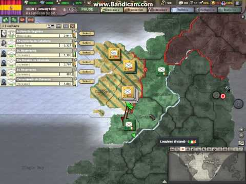Heart Of Iron 3 Republican Spain  Part 12