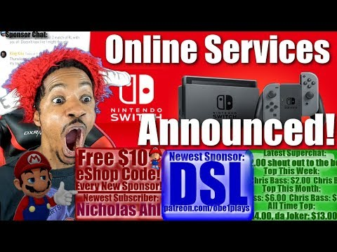 Online Services Details Announced For Nintendo Switch
