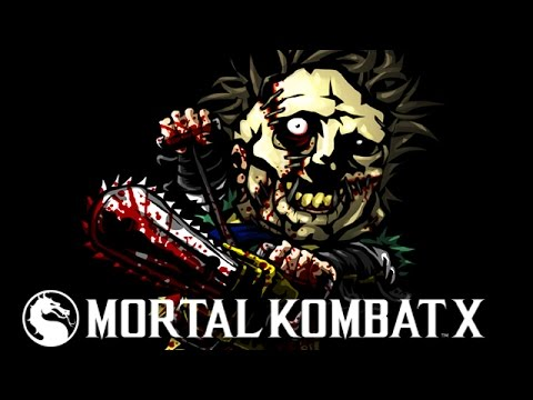 "LEATHERFACE BUTCHERING HIS OPPONENTS - Mortal Kombat X ""Leatherface"" Gameplay"