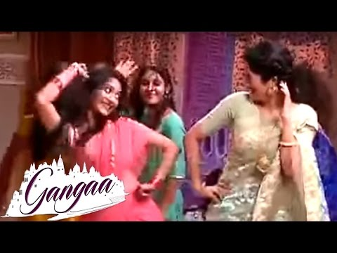 Aditi Sharma Dance With Gangaa &TV Serial Co Stars | Behind The Scenes | On Location | &tv Serial