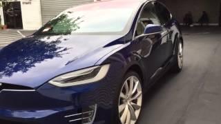 Tesla Model X Full Xpel Wrap by OCDetail