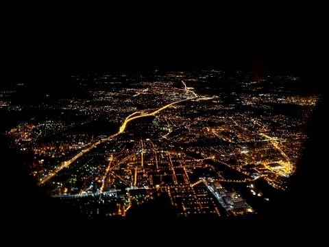 Ночной авиаперелёт Сочи-Москва (4K)