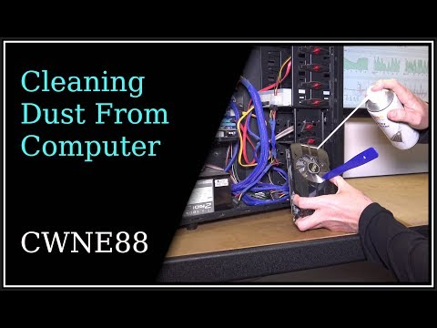 Cleaning Dust From Computer