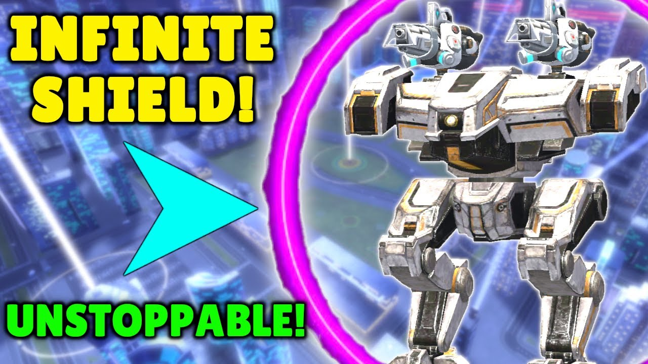 Download INFINITE Shield? NEMESIS Becomes Unstoppable With New Absorber Chip   War Robots Mk2 Gameplay WR