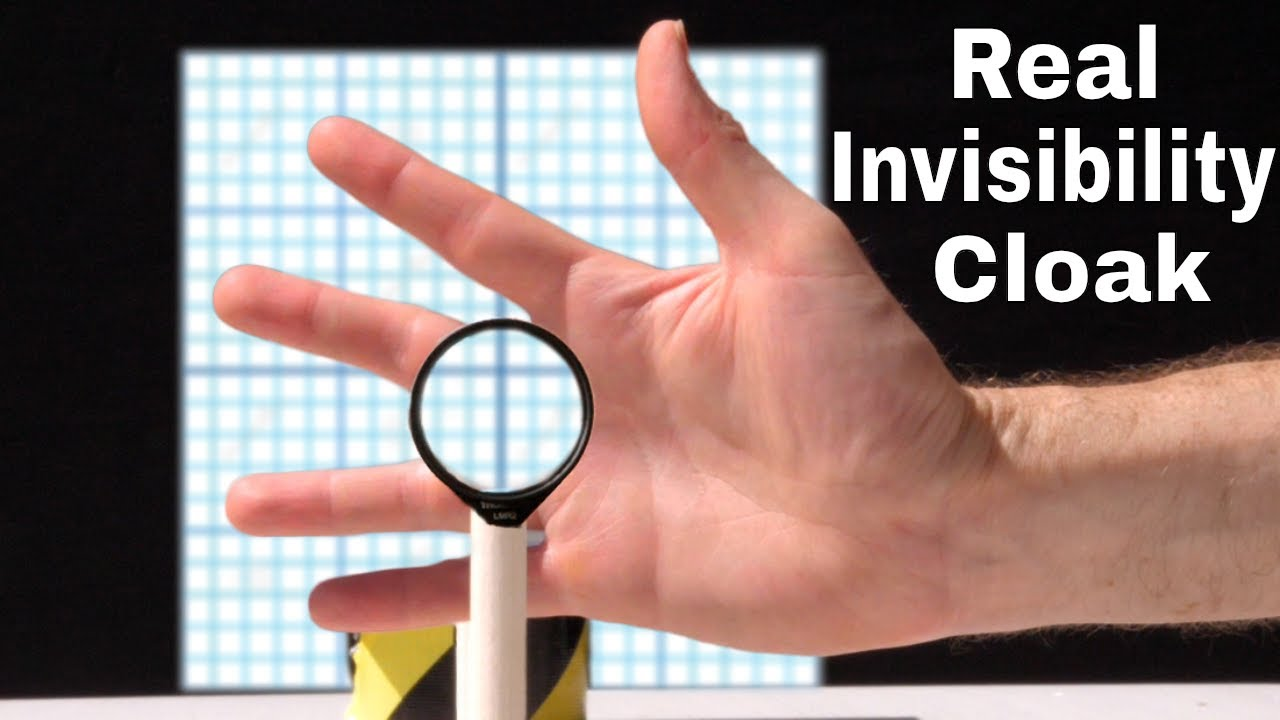 Download I Made a Real-Life Invisibility Cloak! Watch My Hand Disappear With My Homemade Rochester Cloak!