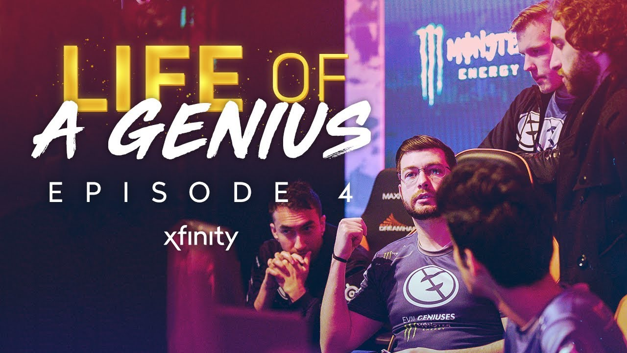 Xfinity Presents Life Of A Genius Season 2 Episode 4 Dreamhack Major Sweden Youtube