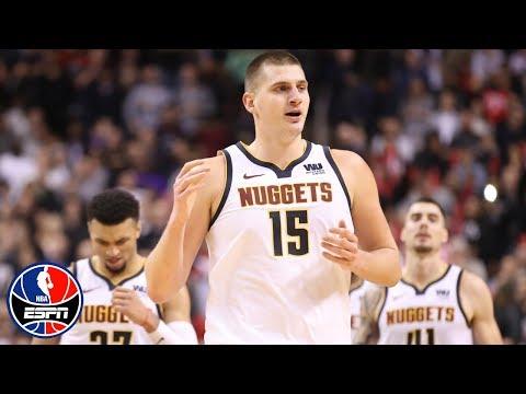 Jokic notches triple-double in Nuggets' win over Raptors | NBA on ESPN