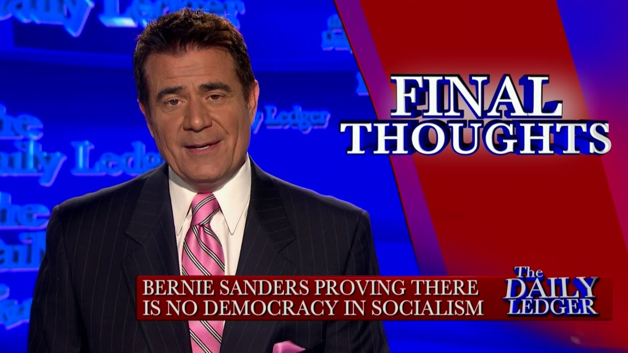 OAN Final Thoughts: Sanders Proves there's no Democracy in Socialism