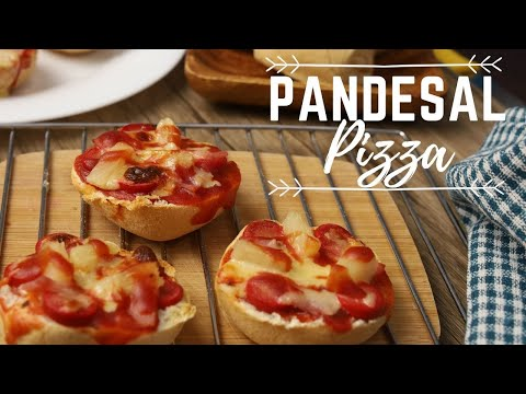 homemade-pandesal-pizza-(-pizza-bread-roll-)-using-oven-toaster---pizza-recipe