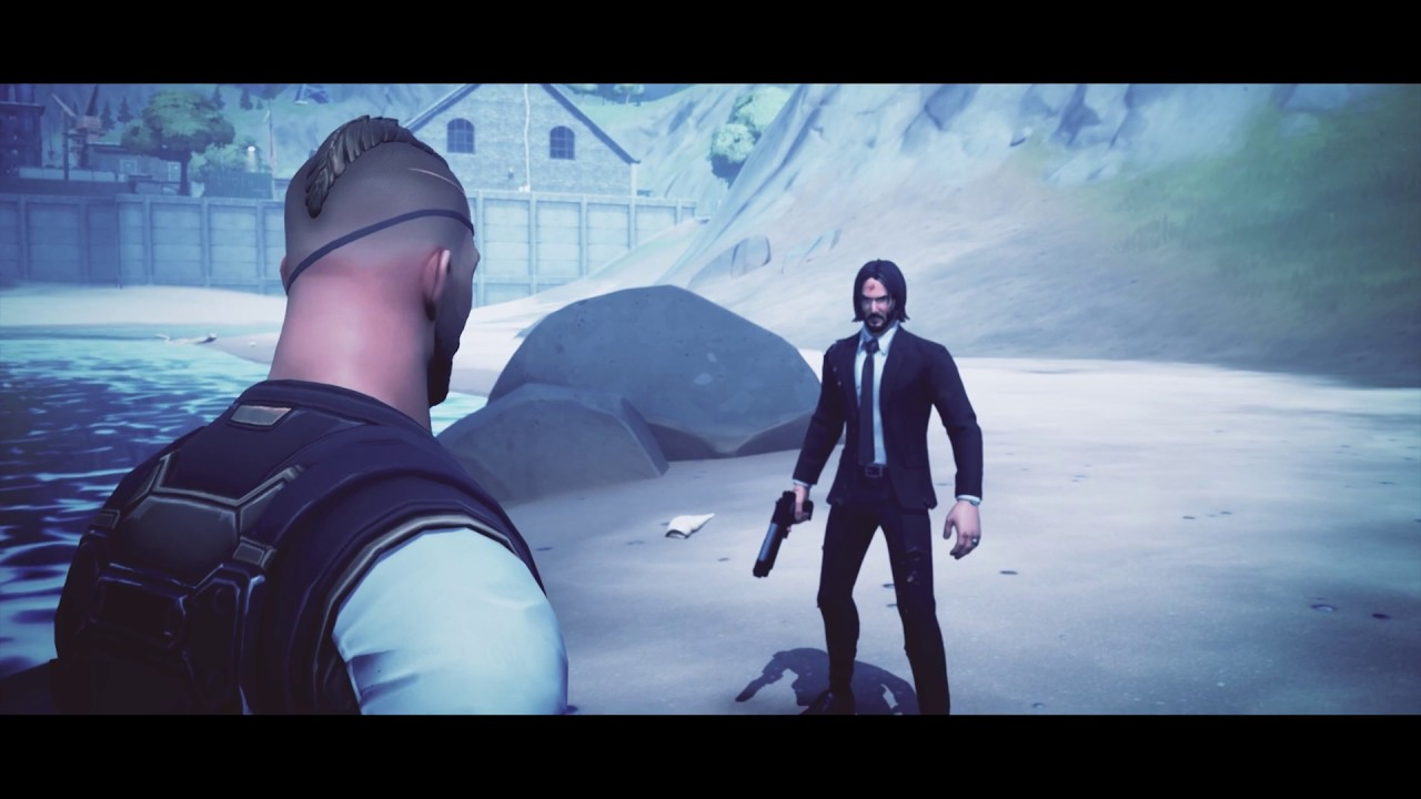 John Wick - THE END / Fortnite Movie Montage