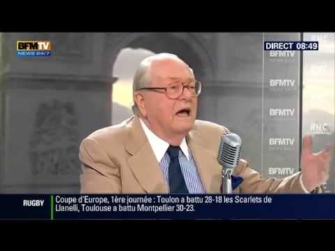 2014 Octobre 20 Bourdin direct Jean Marie Le Pen
