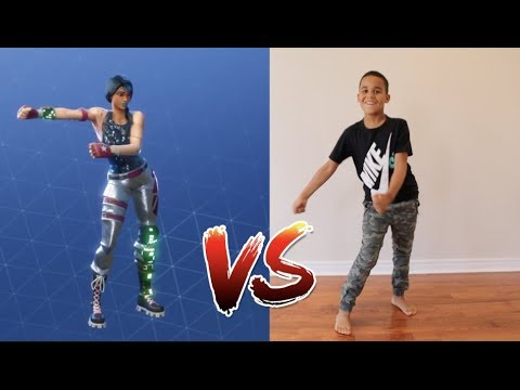 FORTNITE DANCE CHALLENGE IN REAL LIFE!