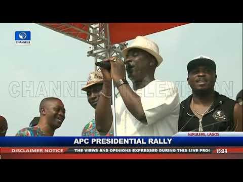APC Nat'l Leader, Tinubu Takes A Swipe At PDP, Attacks Obasanjo, Obi And Atiku