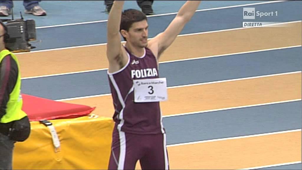 Silvano Chesani Silvano Chesani record italiano indoor salto in alto 233