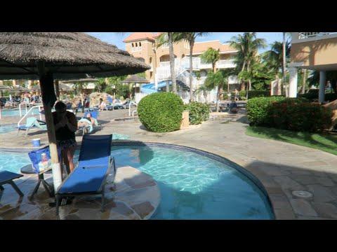 ARUBA HOTEL ROOM TOUR! (DAY 1 VLOG)