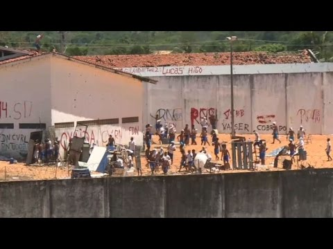 Fresh fighting erupts among inmates at Brazil jail