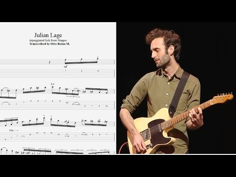 Julian Lage - KILLER Use Of ARPEGGIOS From Nuages