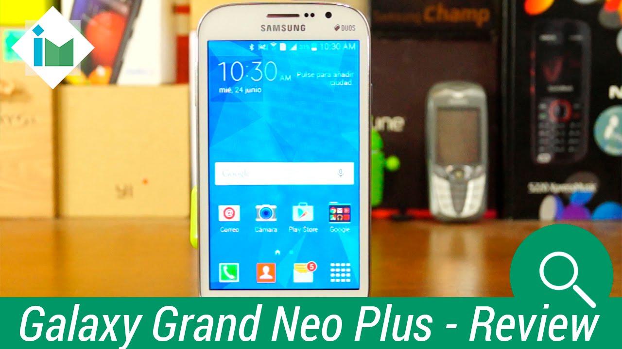 df971217172 Samsung Galaxy Grand Neo Plus - Review en español - YouTube