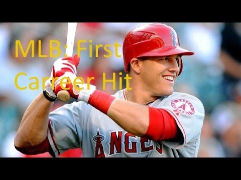 MLB: Stars First Career Hit