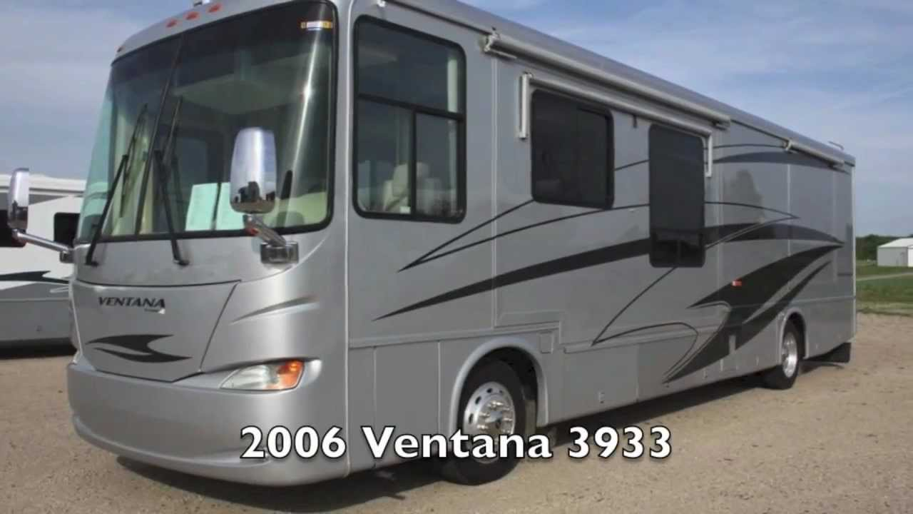 used 2006 newmar ventana 3933 diesel pusher motorhome for sale in mn youtube. Black Bedroom Furniture Sets. Home Design Ideas