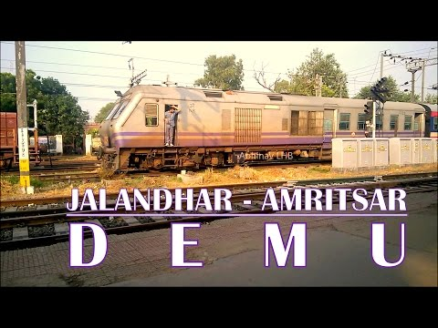 74643 Jalandhar City - Amritsar Diesel Electric Multiple Unit (DEMU) | Indian Railways DEMU (DMU)