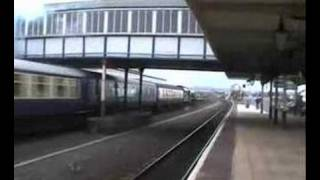 6201 Princess Elizabeth Storms through Rhyl