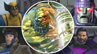 X-Men Destiny All Bosses | Final Boss (PS3, X360, Wii)