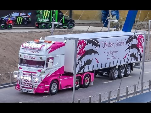 r/c-trucks-in-action!-new-years-driving-2016-at-rc-glashaus!