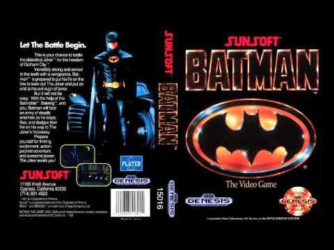 BatMan Genesis Gotham City Streets 8 bit