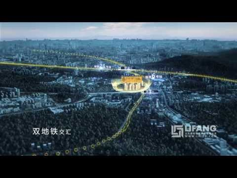 3D CGI Architectural flythrough of a Master Plan in China
