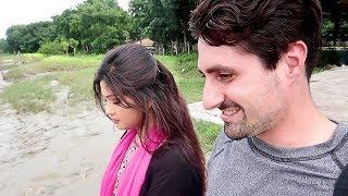 VISITING A VILLAGE    American Bangladeshi couple vlog    Bangladesh Khulna    Part 2