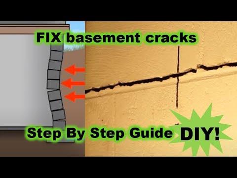 Basement cracking SOLUTION! Fix major block foundation cracks without expensive contractors!