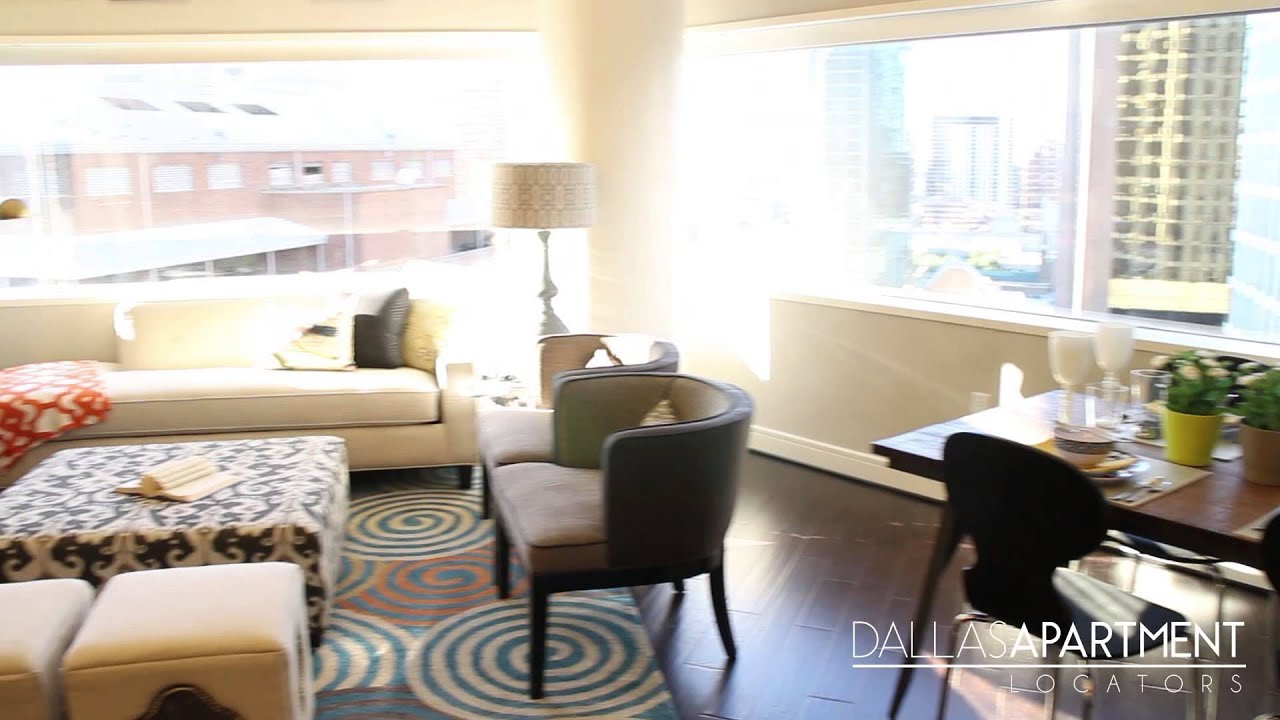 One Dallas Center 2 Bed ( Uptown Downtown Dallas,Tx Apartments)   YouTube