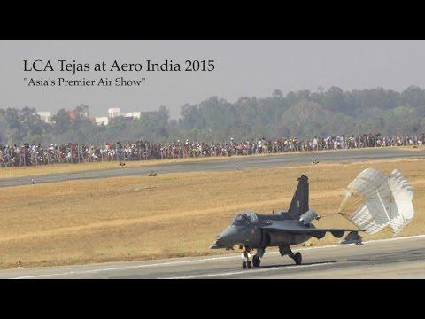 LCA Tejas at Aero India 2015 - Asia's Premier Air Show