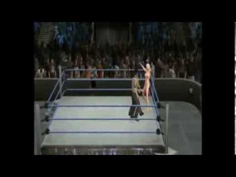 WWE 13 - Nude Miley Cyrus (Wrecking Ball) VS Kylie Minogue