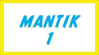 Mantik 1 Şenol Hoca Matematik