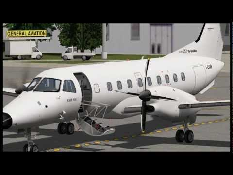 "Embraer EMB-120ER ""Brasilia"" for X-Plane - Sneak Preview 01"