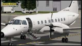 "Embraer EMB-120ER ""Brasilia"" for X-Plane - Sneak Preview 01"