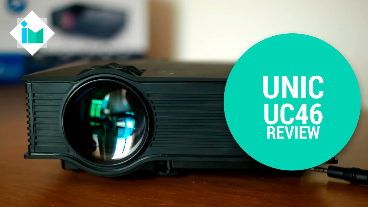 UNIC UC46 Mini WiFi Portable Full HD LED Projector with Miracast DLNA  Airplay