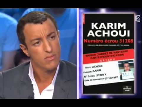 Karim Achoui - On n'est pas couché 23 mai 2009 #ONPC