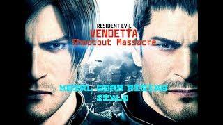 Resident Evil: Vendetta - Shootout Massacre (Metal Gear Rising style)