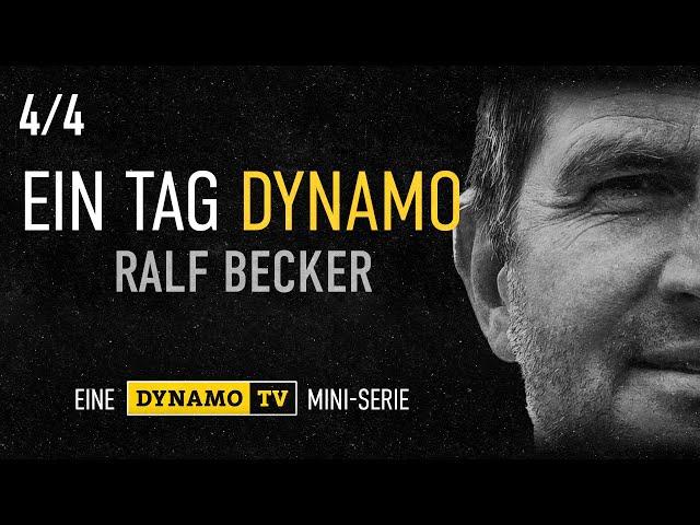 Ein Tag Dynamo | Folge 4 | Ralf Becker