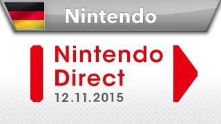 Nintendo Direct-Präsentation - 12.11.2015