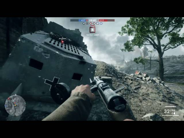 Battlefield 1 delivers memorable moments from the horror of World