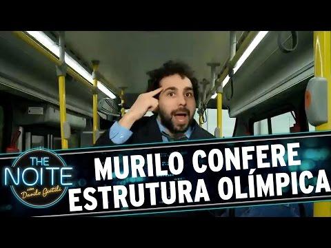 The Noite (02/08/16) - The Noite nos Jogos: Murilo Couto confere estrutura das Olimpídas