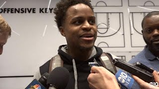 Yogi Ferrell on providing a spark off the bench for Kings in win over T'Wolves