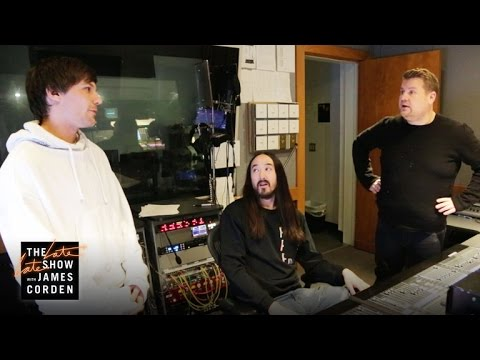 Louis Tomlinson & Steve Aoki Cut James Corden from Just Hold On