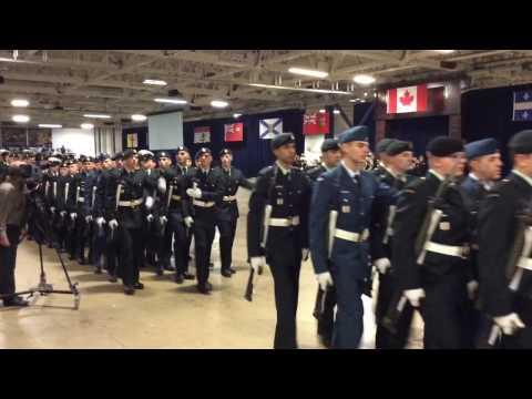 Ordinary Seaman McClement graduation - 2