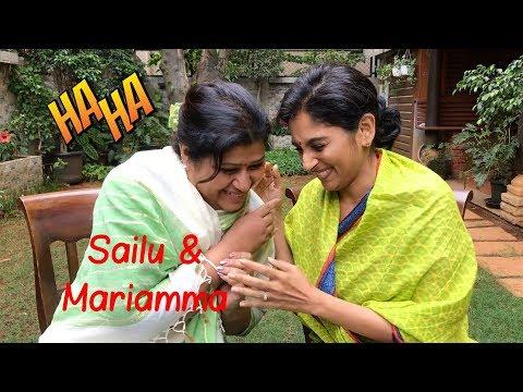 Malayalee Aunty   Meet my best friend Mariamma Kutty   Sailaja Talkies thumbnail