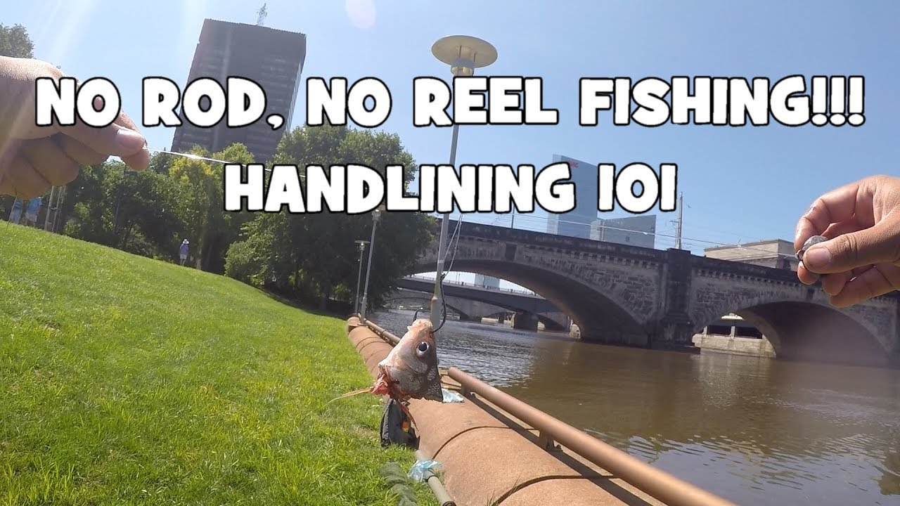 No rod no reel fishing handlining 101 philadelphia for Free fishing day 2017 pa